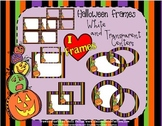 Halloween Frames Pack {Commercial Use}