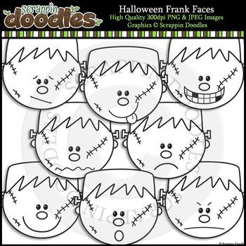 Halloween Frank Faces