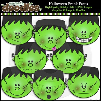 Halloween Frank Faces