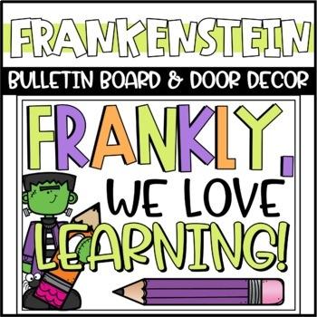 Halloween Frankenstein Bulletin Board or Door Decoration