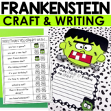 Halloween Frankenstein Craft & Writing Activity