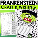 Halloween Frankenstein Craft & Writing Activity