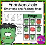 Halloween Activity Frankenstein Feelings and Emotions Bingo