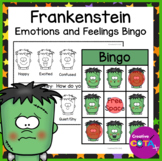 Halloween Frankenstein Feelings and Emotions Bingo