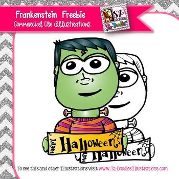 Halloween Frankenstein Freebie