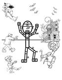 Halloween: Frankenstein Teaches Body Parts