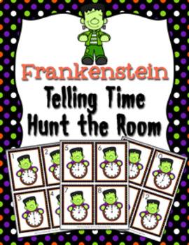 Halloween Frankenstein Time to the Hour Hunt the Room