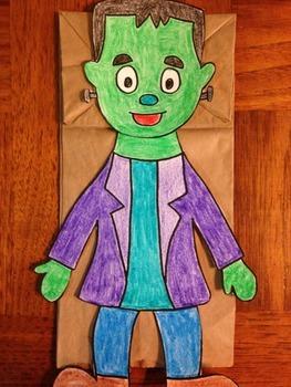 Halloween Frankenstein's Monster Puppet