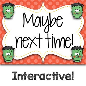 Halloween Frankie Emoji Wars Takadi Tiriti {Interactive Rhythm Game}