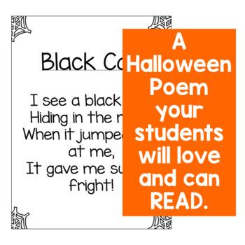 Halloween Sight Word Poem FREEBIE