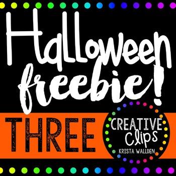 Halloween Freebie #3 {Creative Clips Digital Clipart}