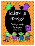 Halloween Freebie: Action Verbs and Adverbs Fun Printables