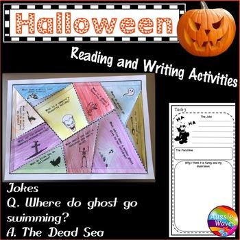 Halloween Freebie Fun Reading Activity
