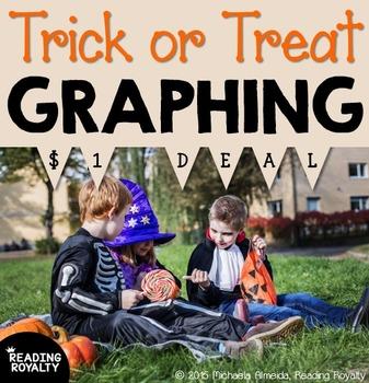 Halloween Graphing Math Activity - $1 Deal