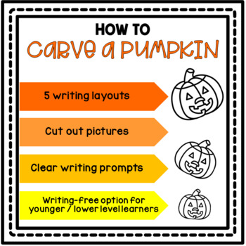 Halloween Freebie: How to Carve a Pumpkin Sequence