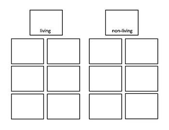 Halloween Freebie Living and Non-Living Sorting Activity