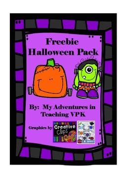 Halloween Freebie Pack