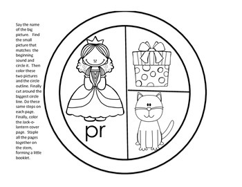 Halloween Freebie Sound Circles Booklet