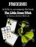 Halloween Freebie - The Little Green Witch Activity