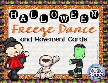 Halloween Freeze Dance