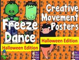 Halloween Freeze Dance and Creative Movement
