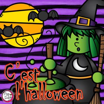 Halloween ~ French ~ C'est l'halloween!