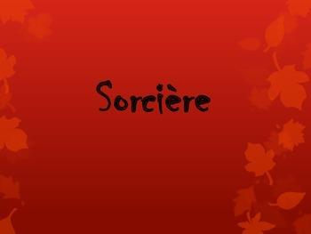 Halloween French Vocabulary Flashcards
