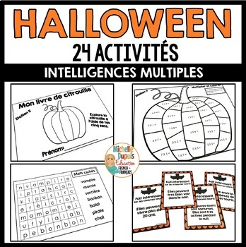 Halloween - Ressource en français  -  French Halloween