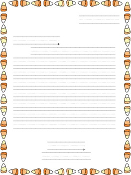 Halloween Friendly Letter Templates
