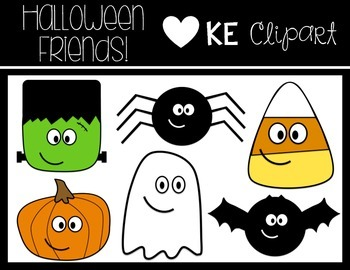 Halloween Friends Clipart