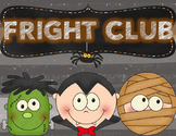 Halloween Fright Club book flip book & more
