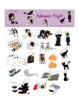 Halloween Fright Graphics Set