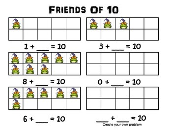 Halloween Frogs Friends of 10