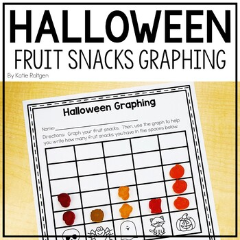 Halloween Fruit Snack Graphing Page