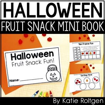 Halloween Fruit Snacks Mini Book