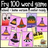 Halloween Fry 100 Words Literacy Center