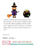 Halloween Fry Sight Word Game - First 100 Words