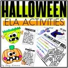 Halloween Fun! {2 Writing Craftivities & 8 ELA Activities}