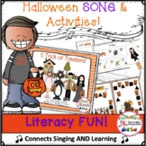 Halloween Song - 5 Trick or Treaters - Literacy Pack