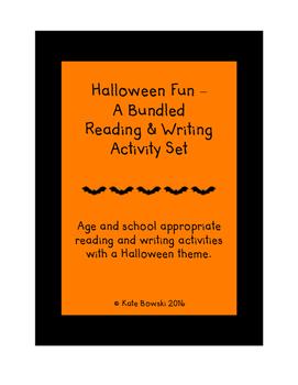 Halloween Fun - A Bundled Reading & Writing Activity Set