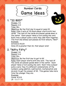 Halloween Fun Activiities Part 2