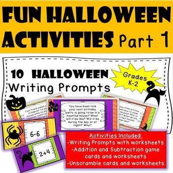 Halloween Fun Activities Part 1