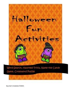 Halloween Fun Activities for Busy Teachers