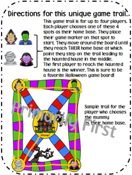 Halloween Fun ~ Addition and Subtraction within 20 ~ Game
