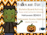 Halloween Fun~ Bulletin Board Printables, BINGO game, Halloween Scene Addition