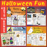 30% OFF Halloween Fun Bundle: 4 Lively Puzzle Sets + Creat