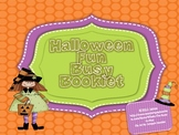 Halloween Fun Busy Booklet {Perfect for Early Finishers}