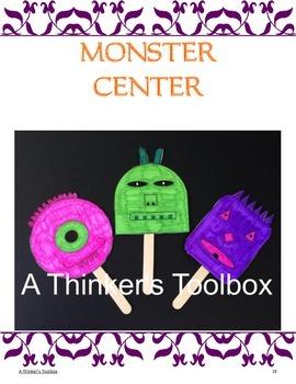 Halloween Fun - Center Activities