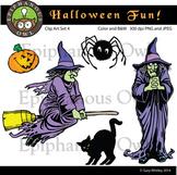 Halloween Fun Clip Art Set 4