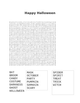 Halloween Fun: Common Core